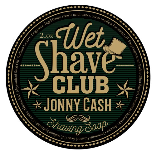 label for a shaving soup