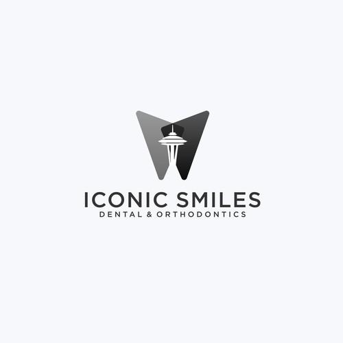 Sleek & chic logo for modern downtown Seattle dental practice