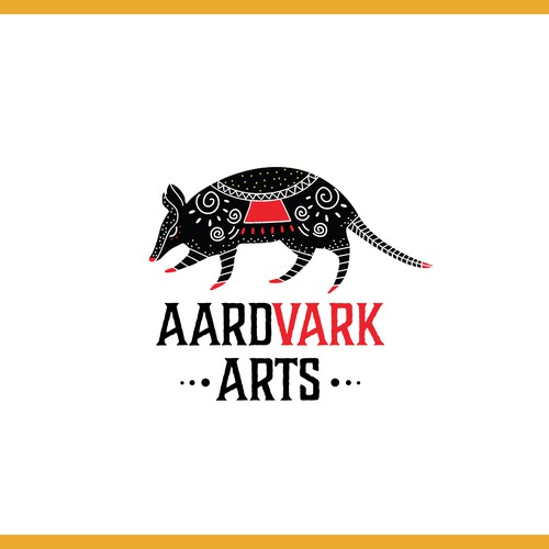 logo for aardvark arts