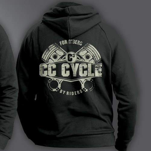 MOTORCYCLE COMPANY TSHIRT. MAKE A STATEMENT! WE HAVE ARRIVED!