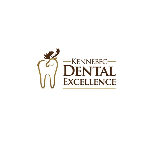 Bold logo for Kennebec Dental Excellence