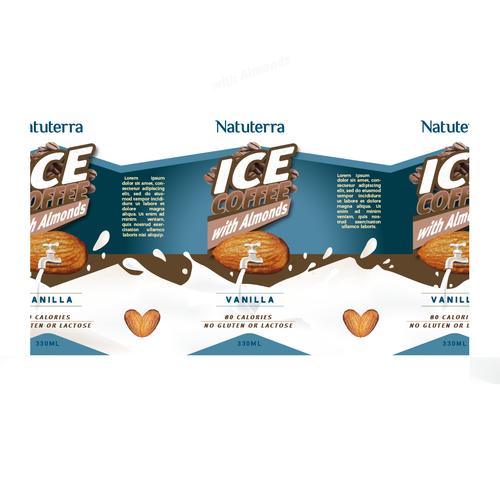 Packaging Design for Natuterra Almond Milk