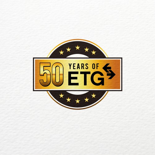 Bold logo concept for 50th Anniversary
