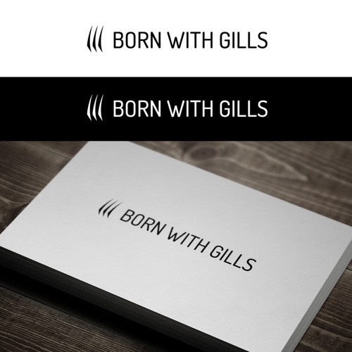 Logo for Born with Gills