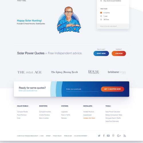 Solarquote Website Redesign
