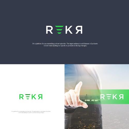 Rekr, the next big internet platform logo design.