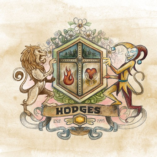 The Hodges Family coat of arms