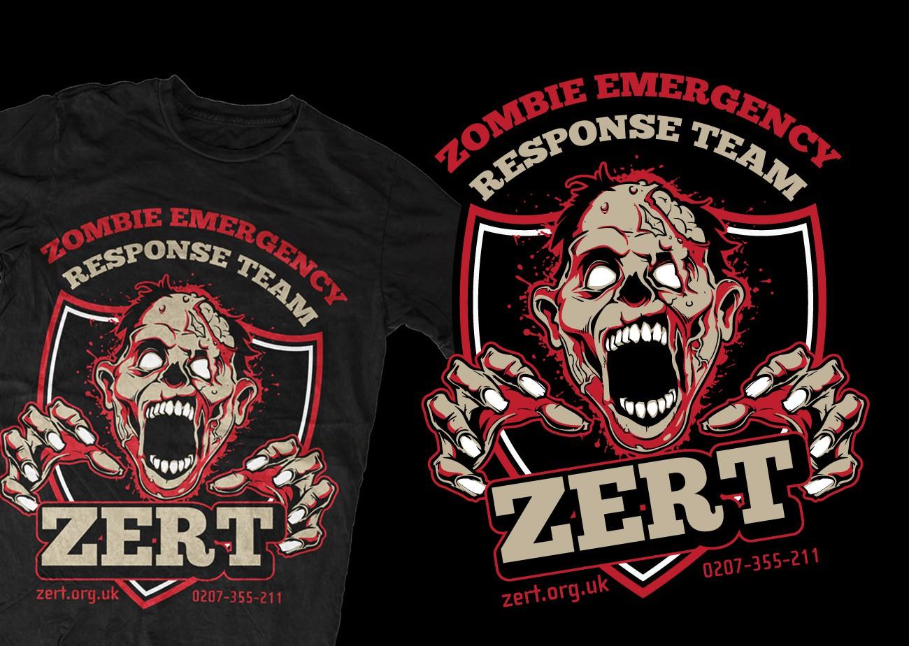 ZERT needs a new zombie t-shirt design