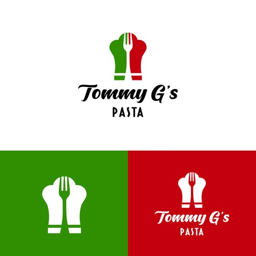 Retro design for an hand-made pasta company.