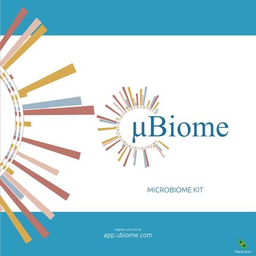 uBiome Kit Design box