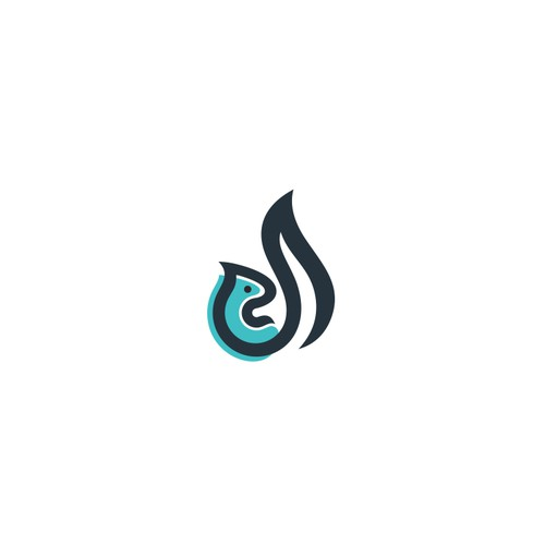 Logo concept for D