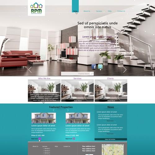 Help Residential Portfolio Management design a website for our brand