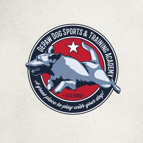 Logo for Dog training academy