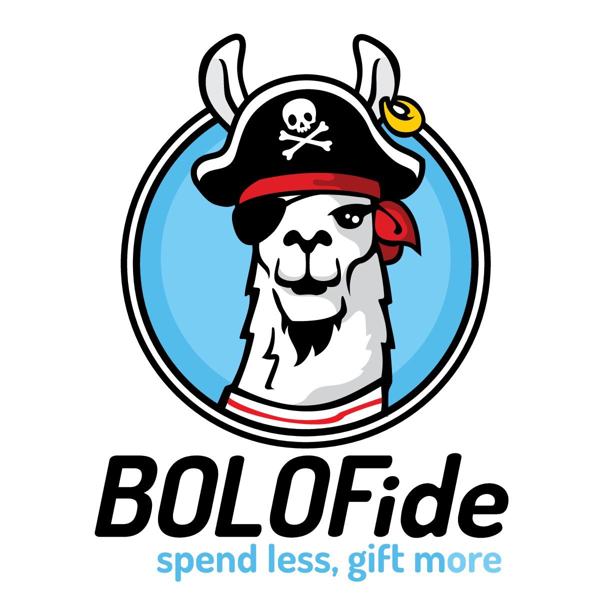 Llama Pirate Logo for Retail Business