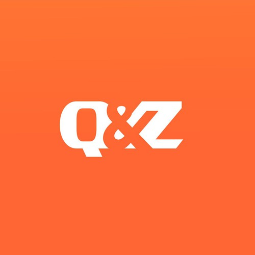 Bold Logo concept for Q & Z