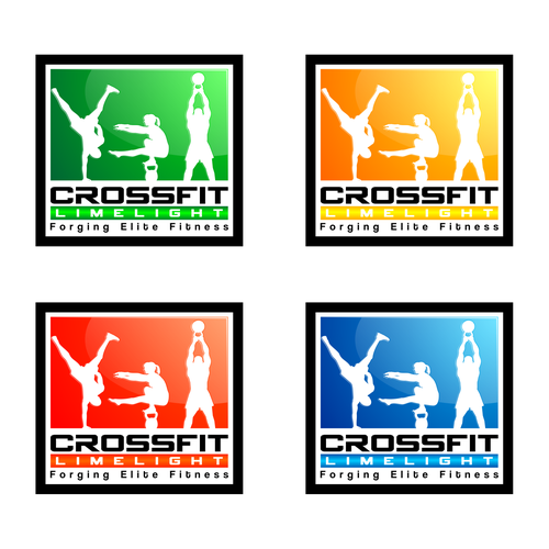 Create the next logo for CrossFit Limelight Forging Elite Fitness