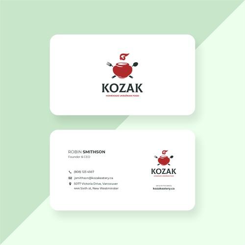 NAME CARD KOZAK