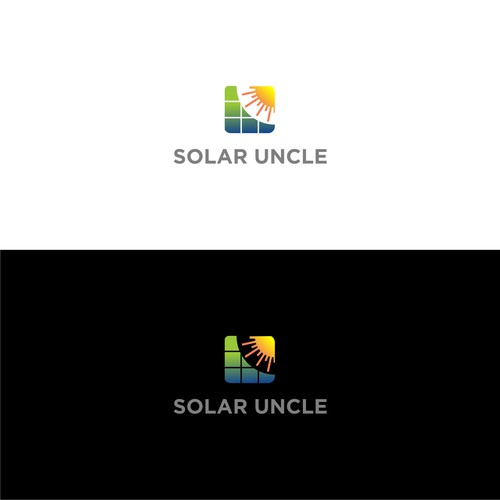 logo for solar uncle