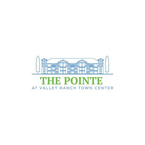 The Pointe logo design