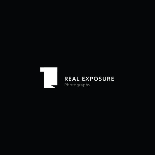Real Exposure Photography Logo Design