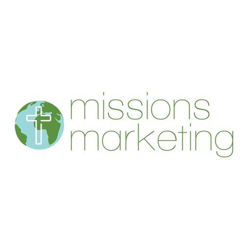 Contemporary marketing logo