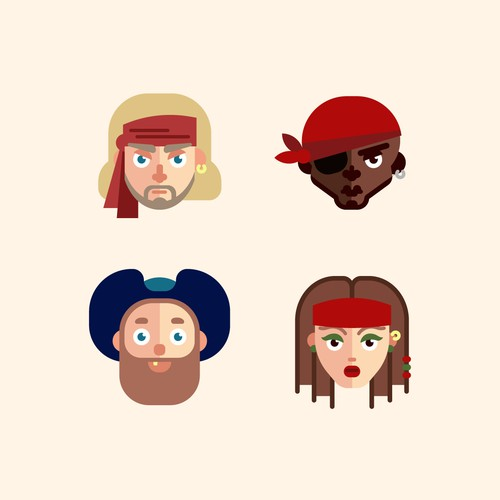 Pirate avatars