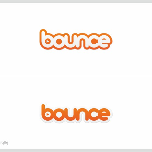 bold logo for bounce