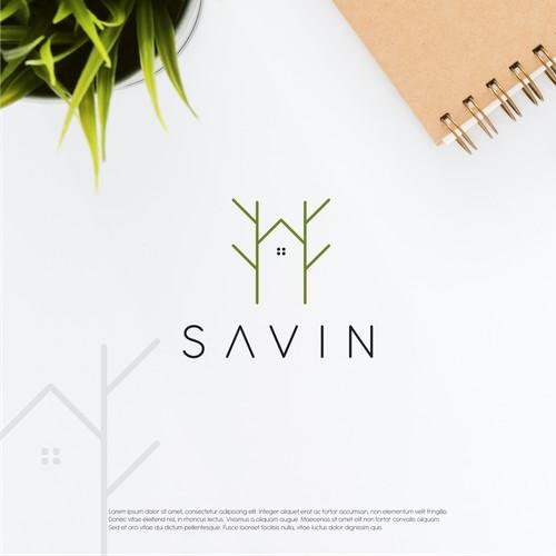 minimalist house logo