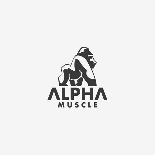 Alpha Muscle Logo