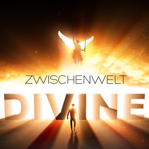 Book cover design for supernatural fantasy book