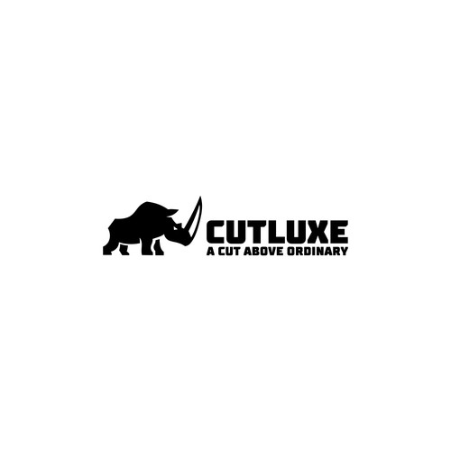 Bold logo design for knife manufacturer.