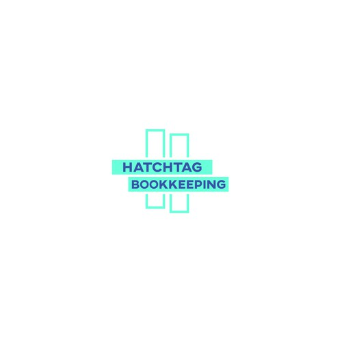 Concept logo for Hatchtag Bookkeeping
