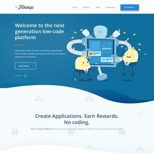 Katalyo Website