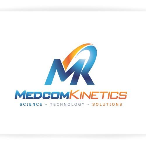 logo and business card for Medcom Kinetics