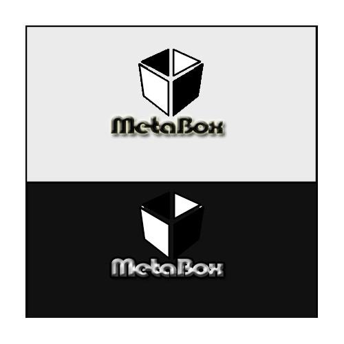 Simple & modern logo for MetaBox