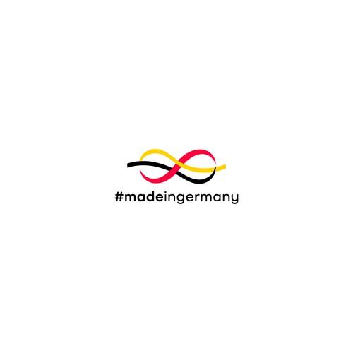 logo for #madeingermany