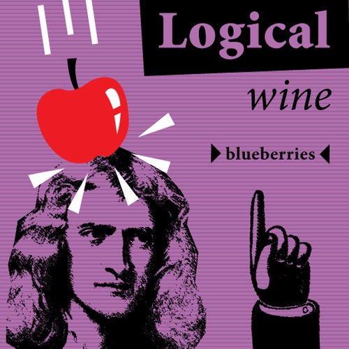 wine, label
