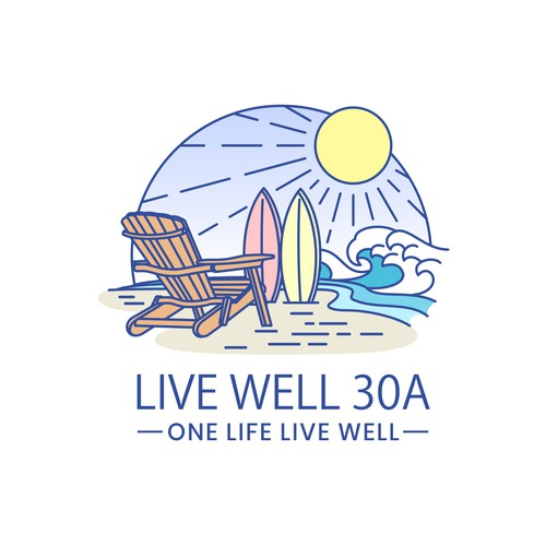 Logo with Vacation Theme