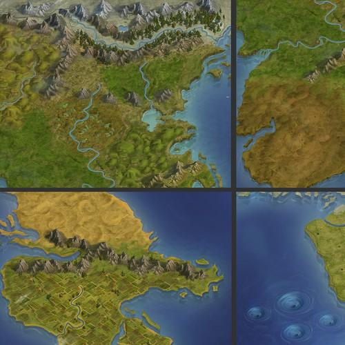 "Map of the ""Eldath"""