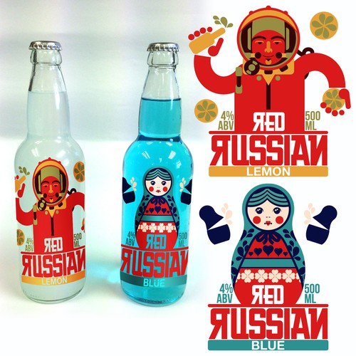 Red Russian Alcopop