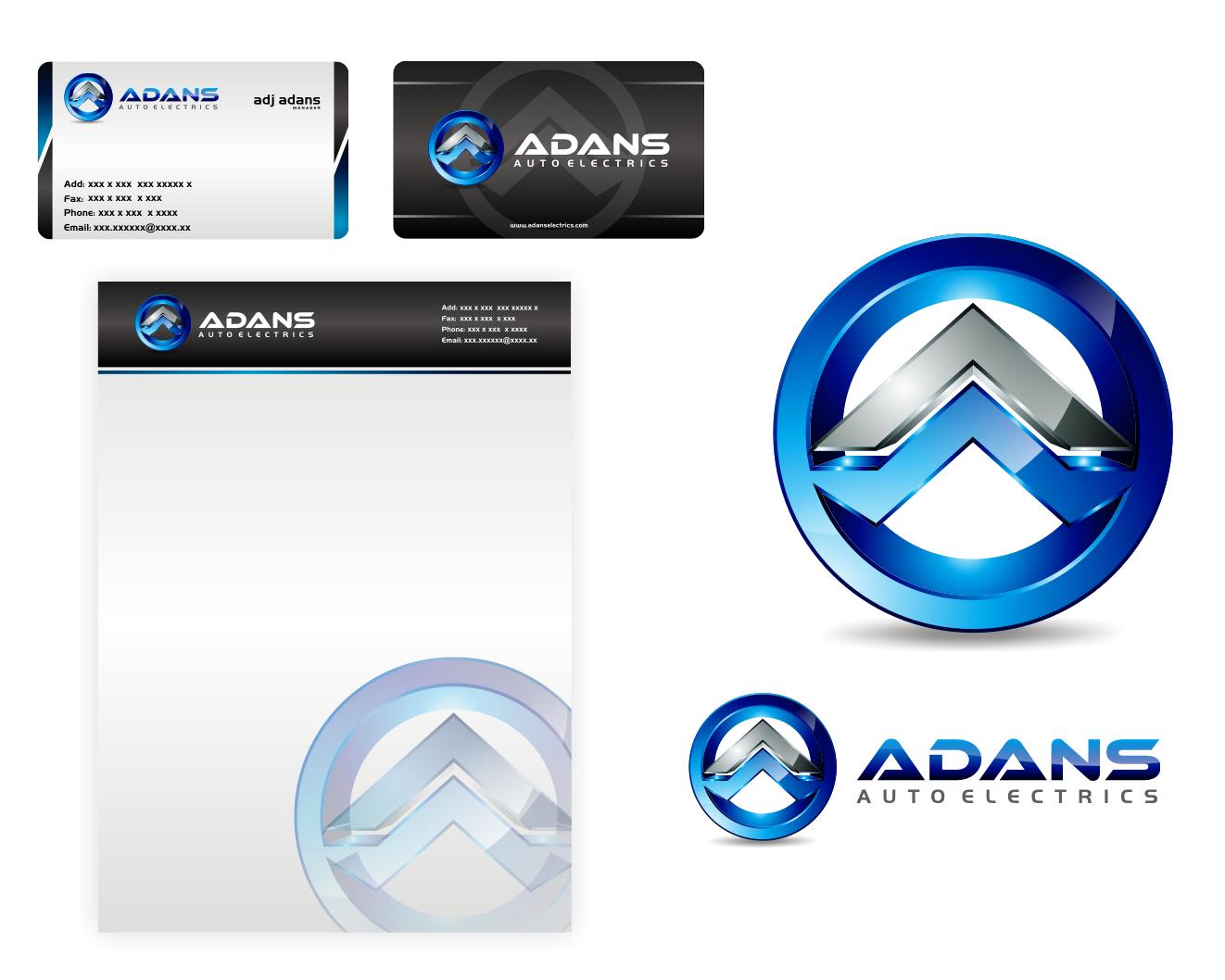 Adans Auto Electrics  needs a new logo