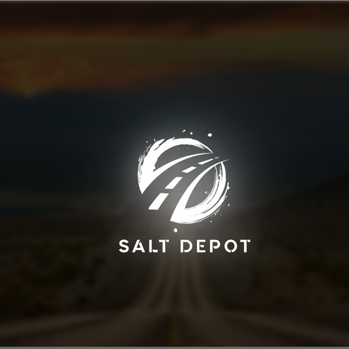 Simple, Bold logo for salt depot.