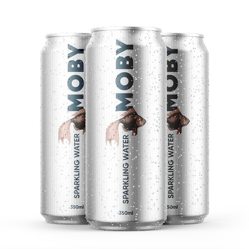 Moby sparkling water