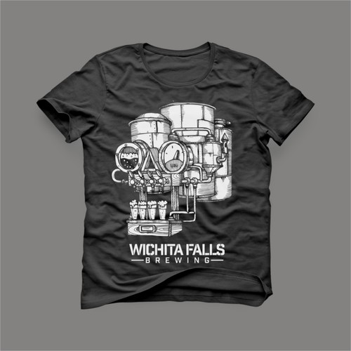 wichita falls brewing t shirt