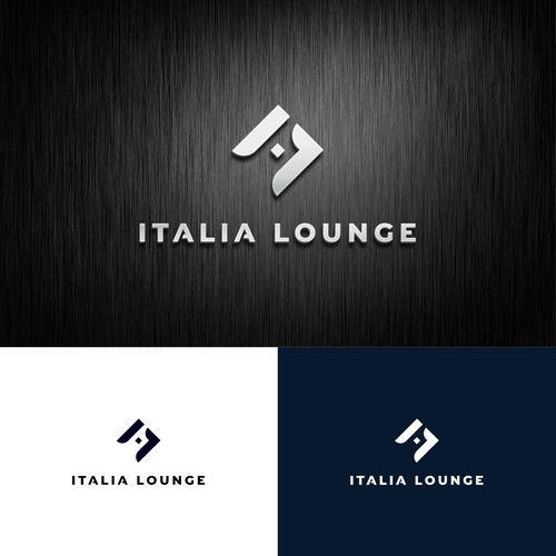 Sleek logo for Italia Lounge