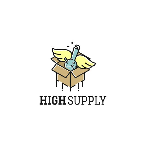 High Supply logo concept