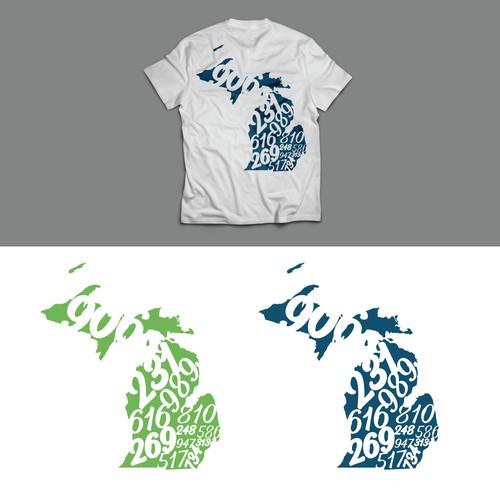 Logo for Michigan Shirt