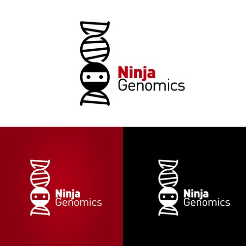 Looking for a stealthy ninja logo for a start-up DNA analysis company