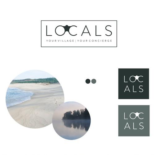Logo design for a travel blog