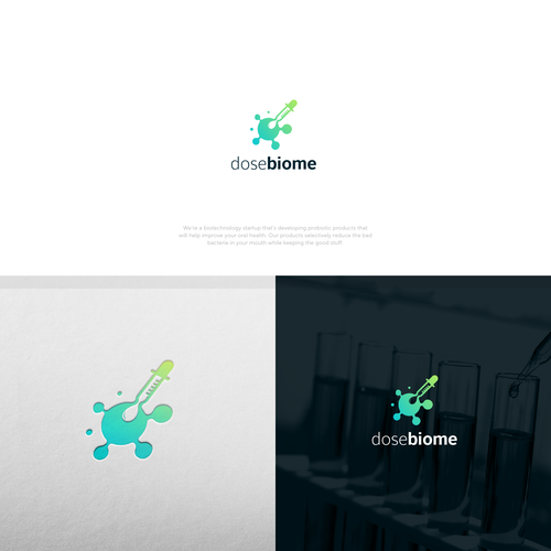 medical tech logo for Dosebiome